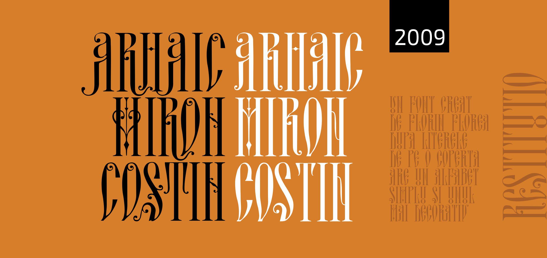 Arhaic Miron Costin