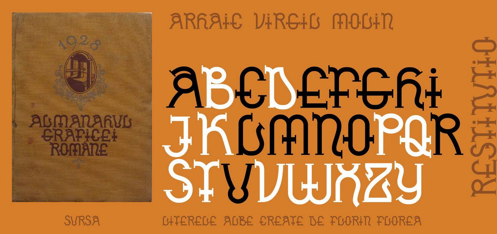 Font Arhaic Virgil Molin